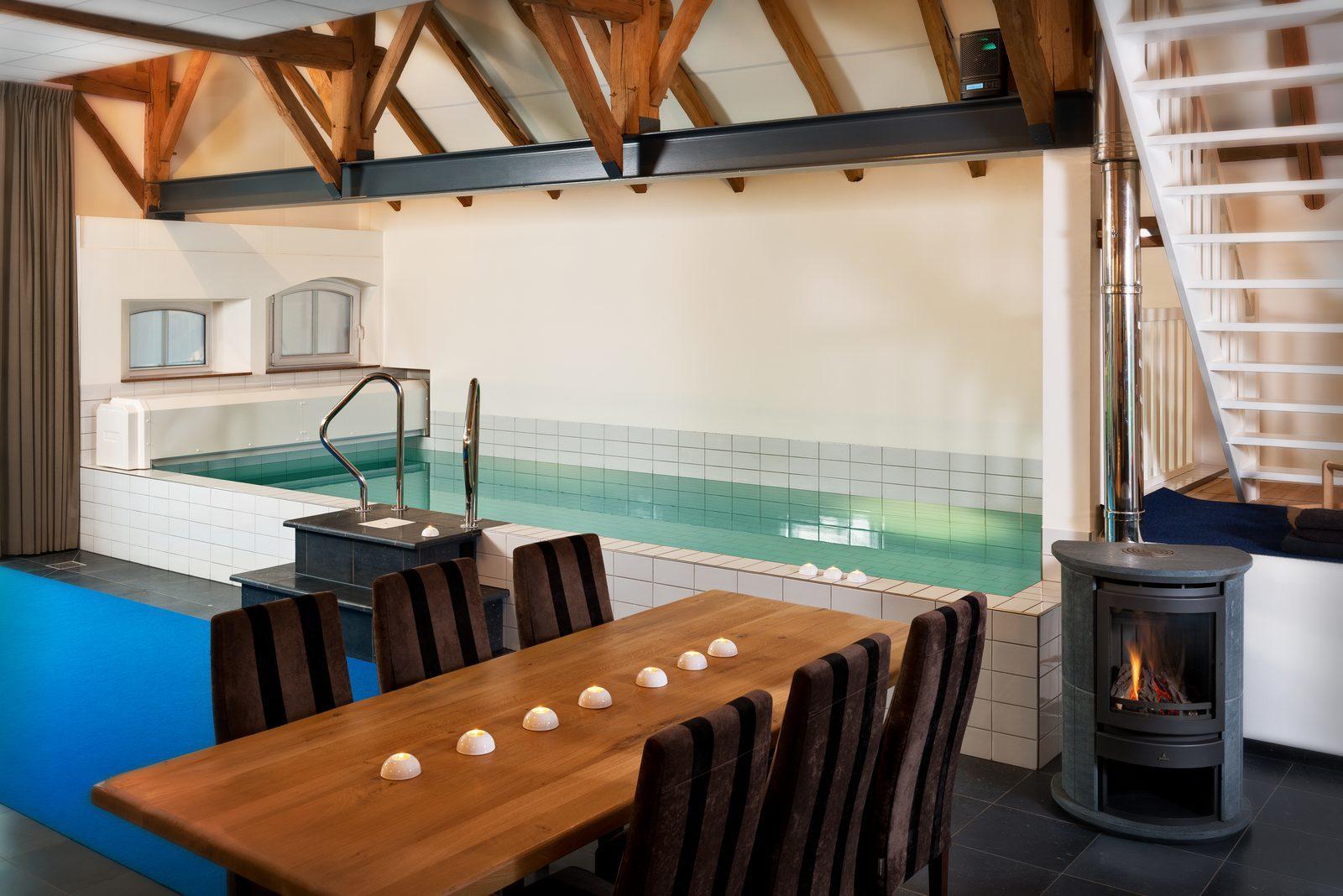 Winterhuis in de Achterhoek, vakantiehuis met zwembad