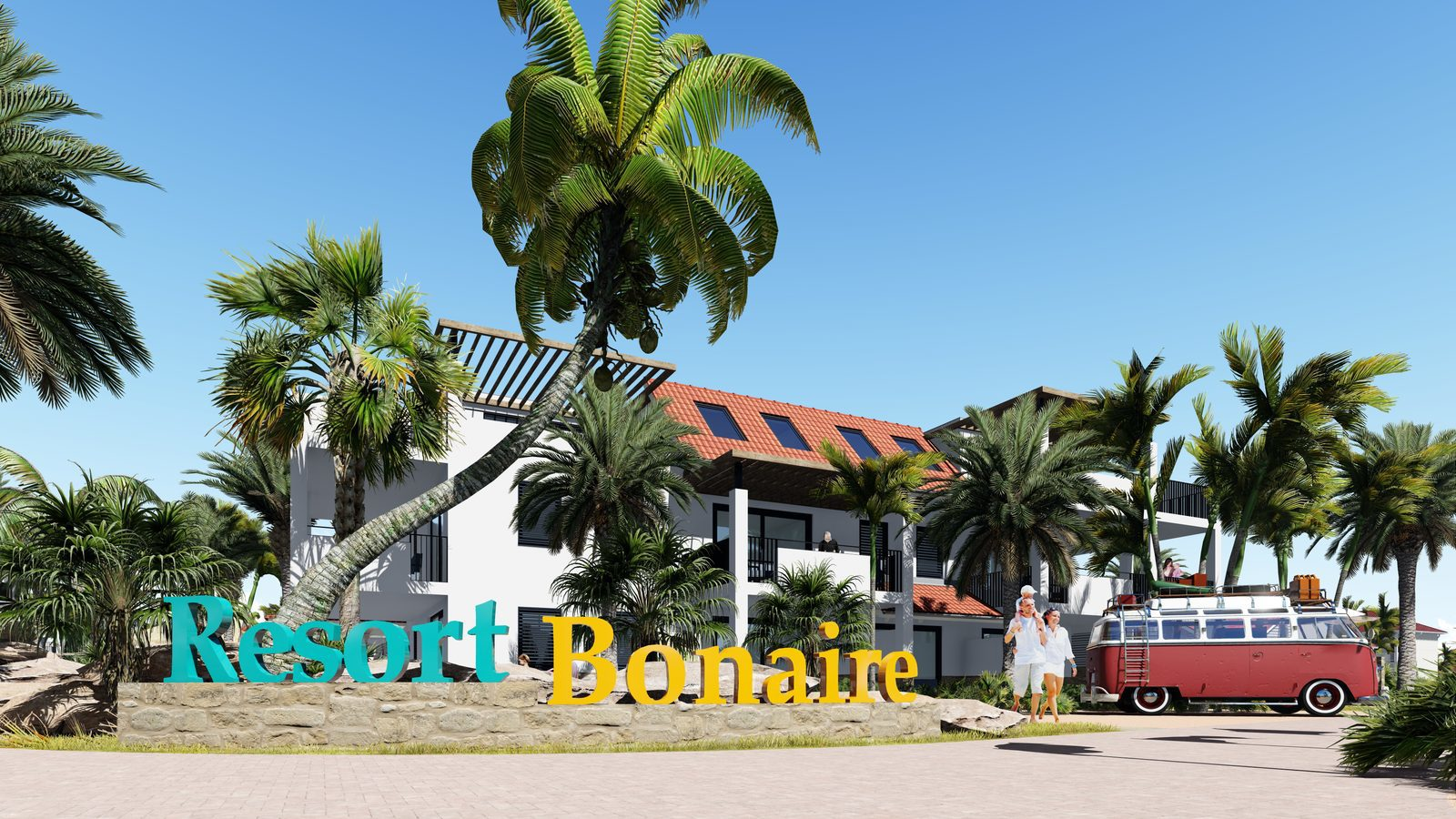Houses for rent at Resort Bonaire, the south of capital Kralendijk. Check out our apartments and enjoy your stay.