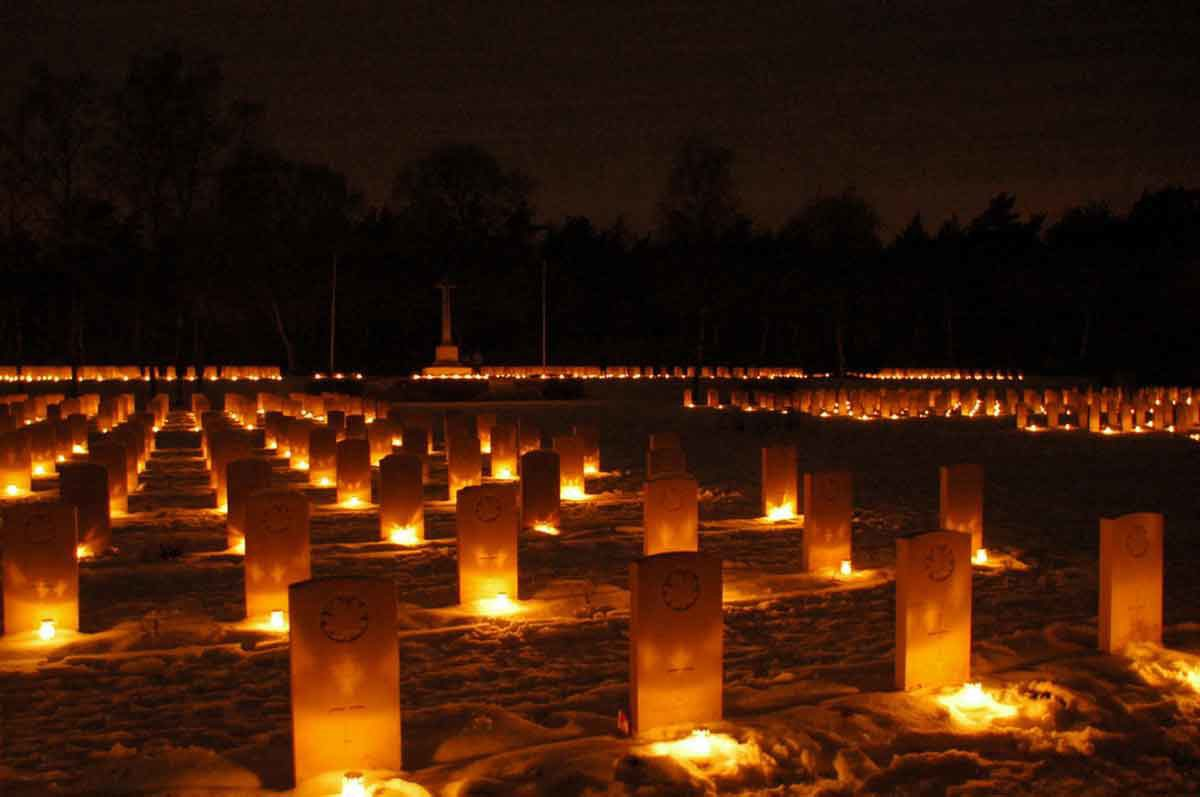 Holten, Kanadische Kriegsgräberstätte