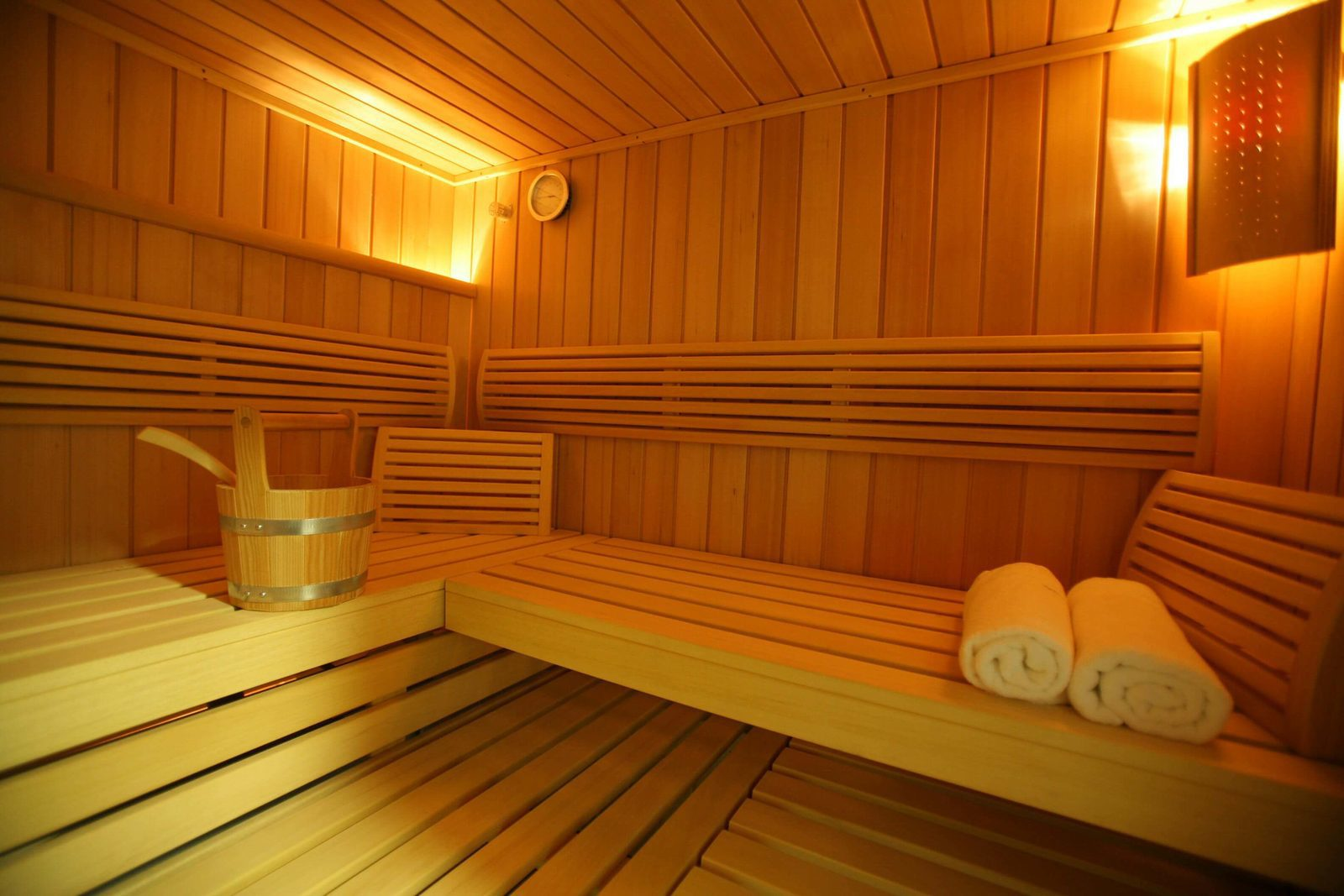 Sauna van landhuis Wielen in Duitsland, Nedersaksen