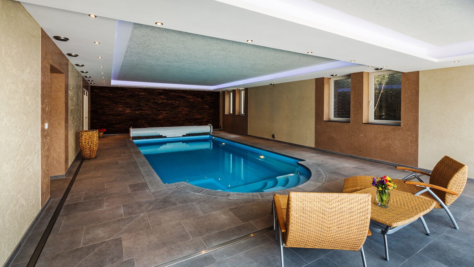 Vakantiehuizen met binnenzwembad