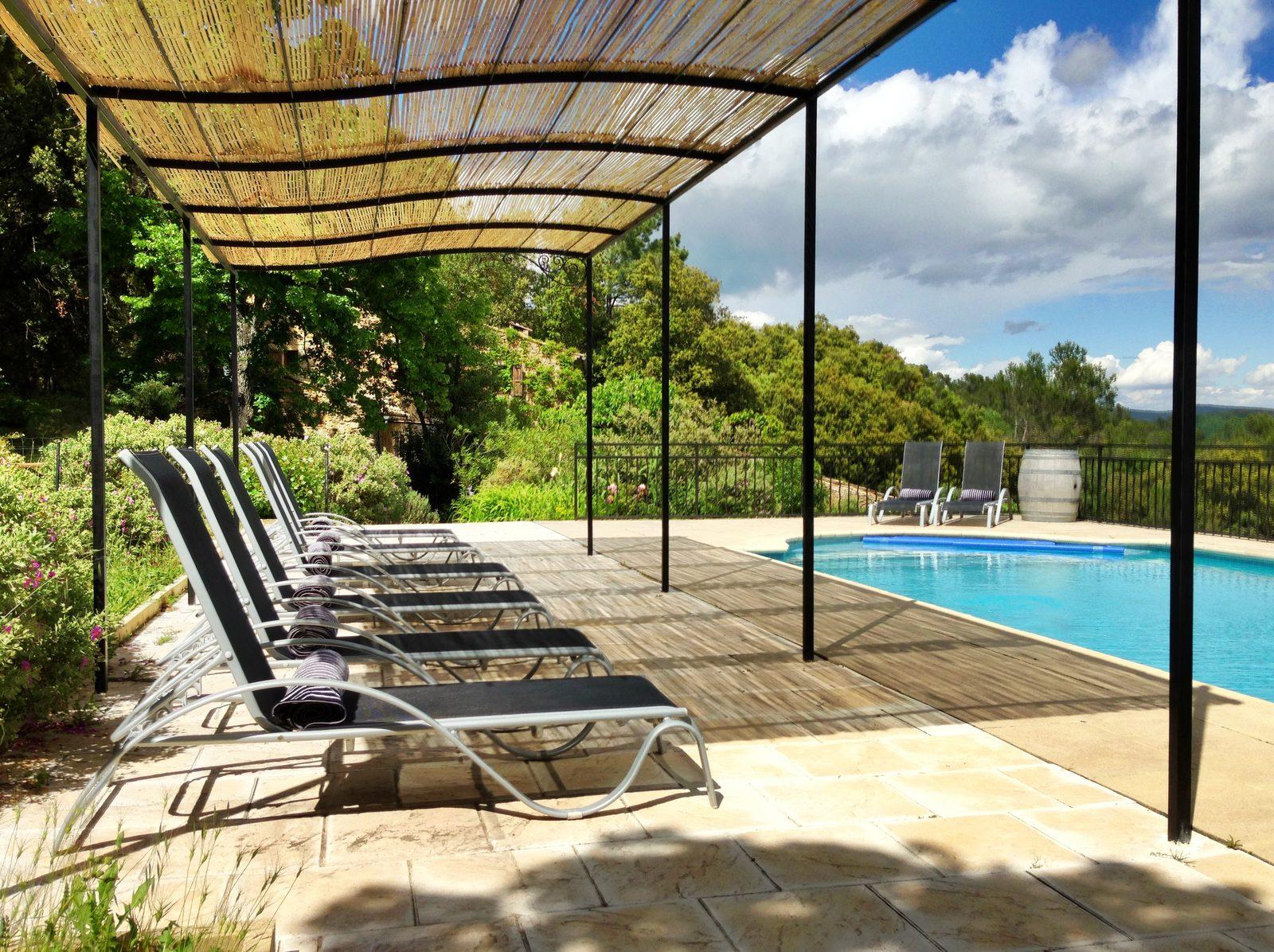 Vakantie, vakantiehuis, safaritent, glamping, zwembad, gîte