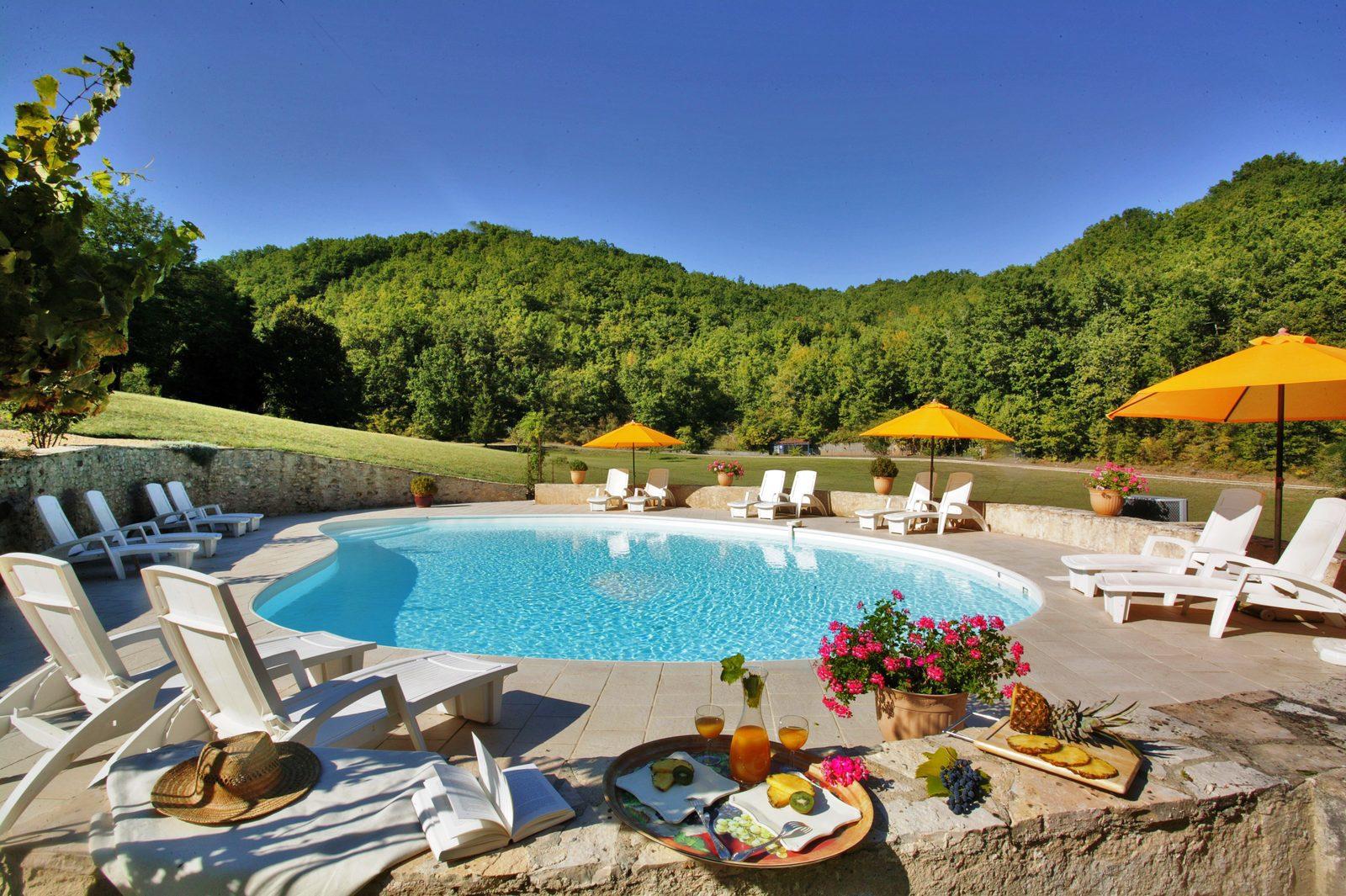 Vakantiehuis Frankrijk met verwarmd zwembad