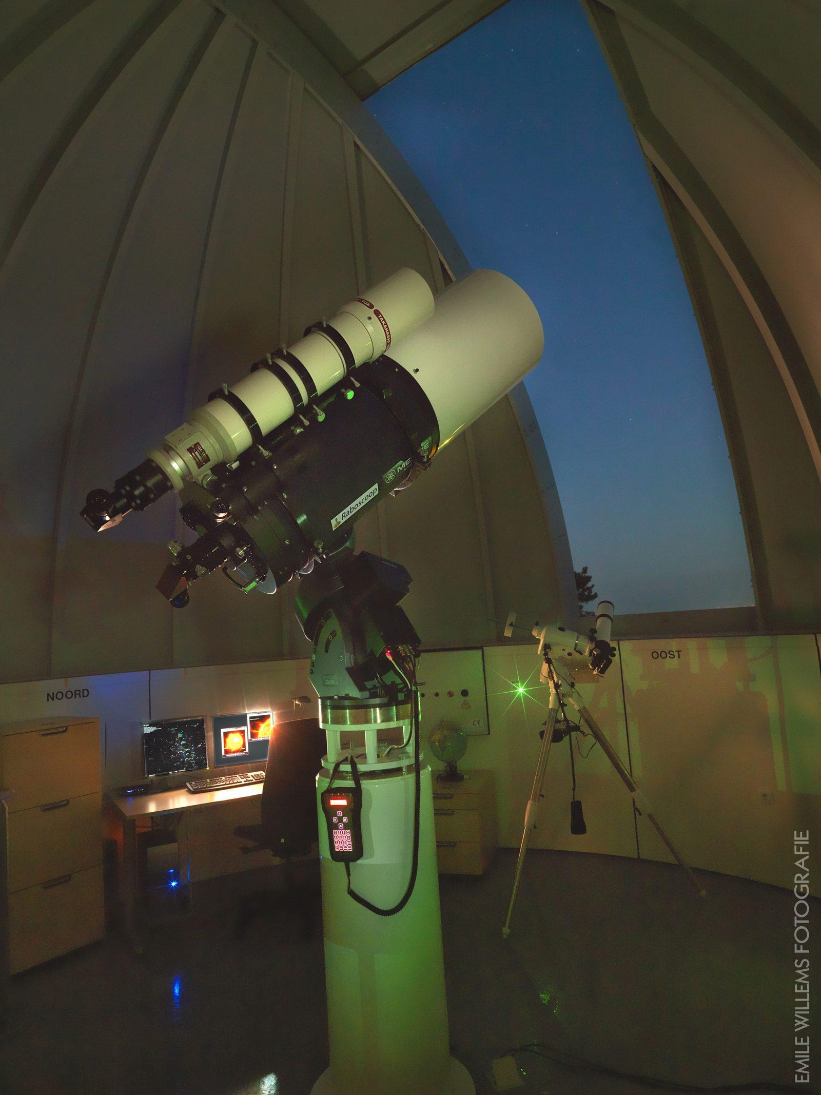Telescoop Sterrenwacht