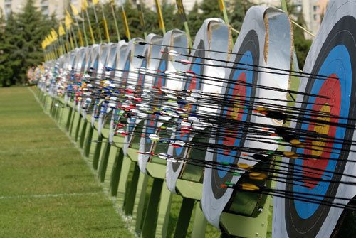 Archery and rifle shooting