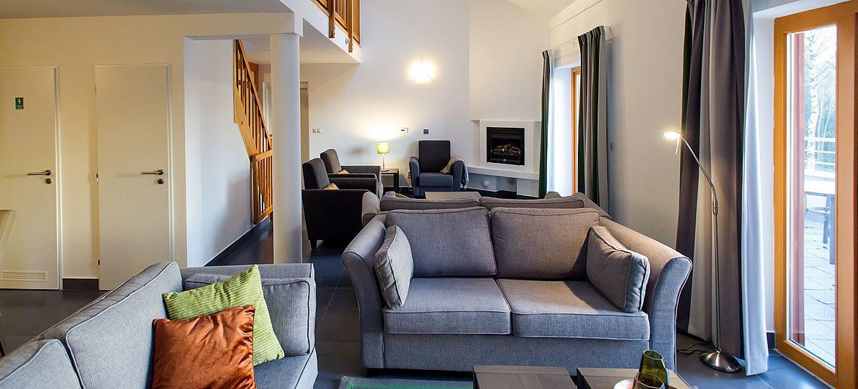 Apartmán 12S - obývací pokoj