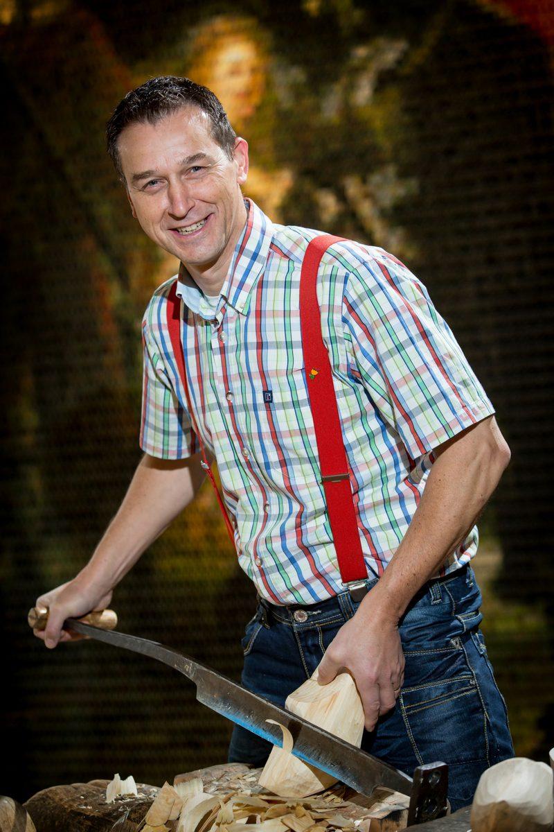 Klompenmaker Martin Dijkman