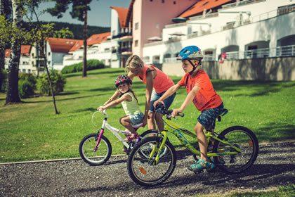 Children in Lipno Lake Resort
