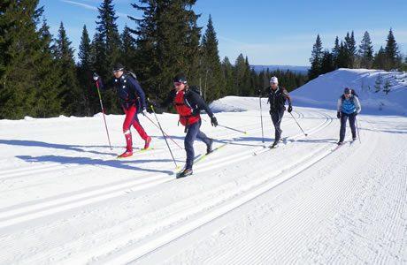 Lyžařský běžecký areál Schöneben