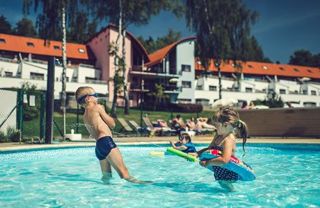 Swimming pool Lipno Lake Resort