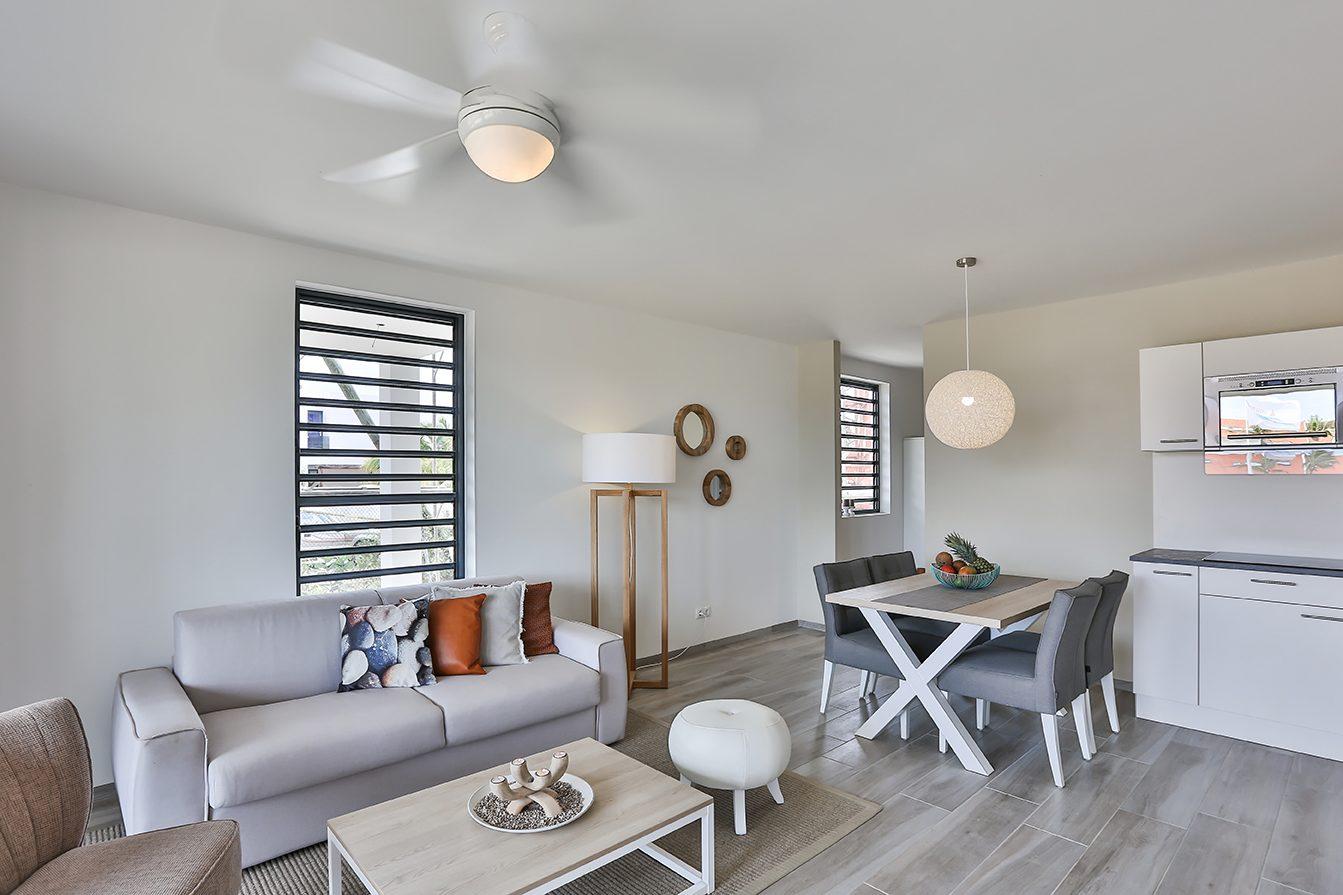 Apartamento Resort Bonaire do Resort Bonaire. Um apartamento agradável e muito moderno num resort com excelentes instalações.