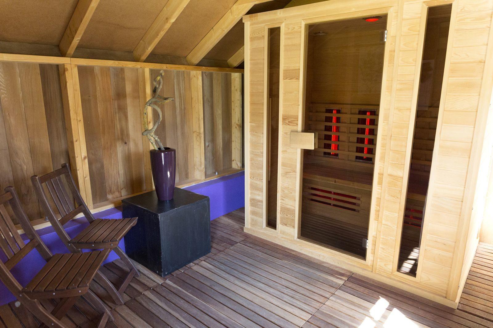 Vakantiewoning met sauna