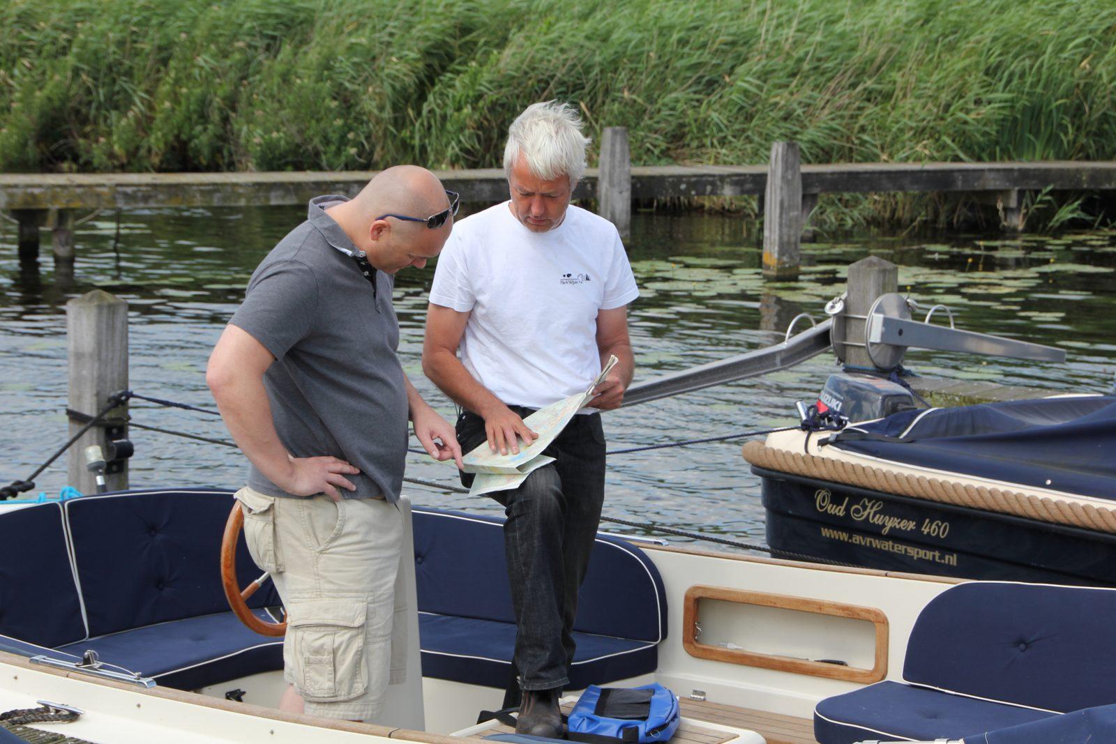 Bootsverleih für Parkgäste