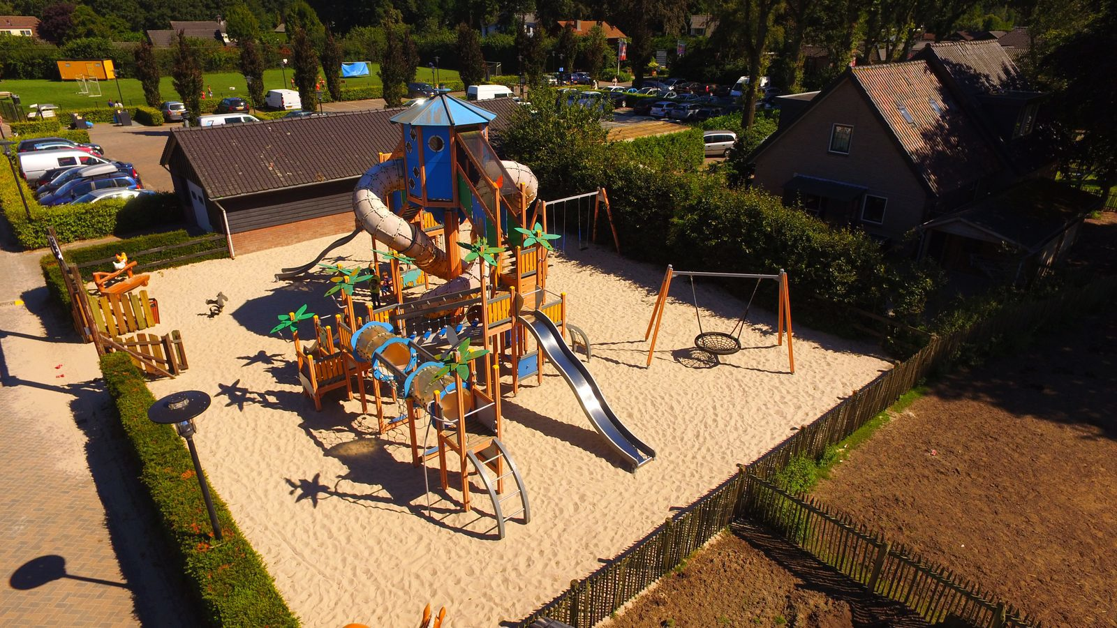 Large playground at holiday park | Recreation Park De Boshoek