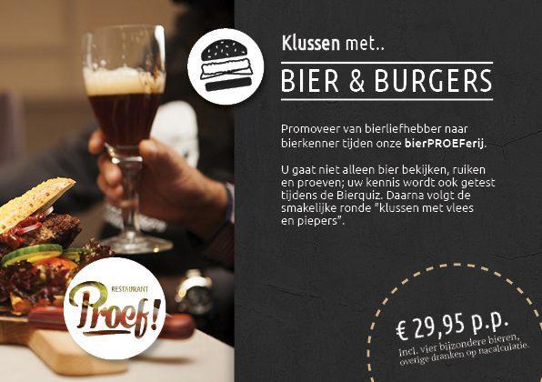 Stoere kookworkshop Bier en Burgers in Voorthuizen bij Proef! en De Boshoek