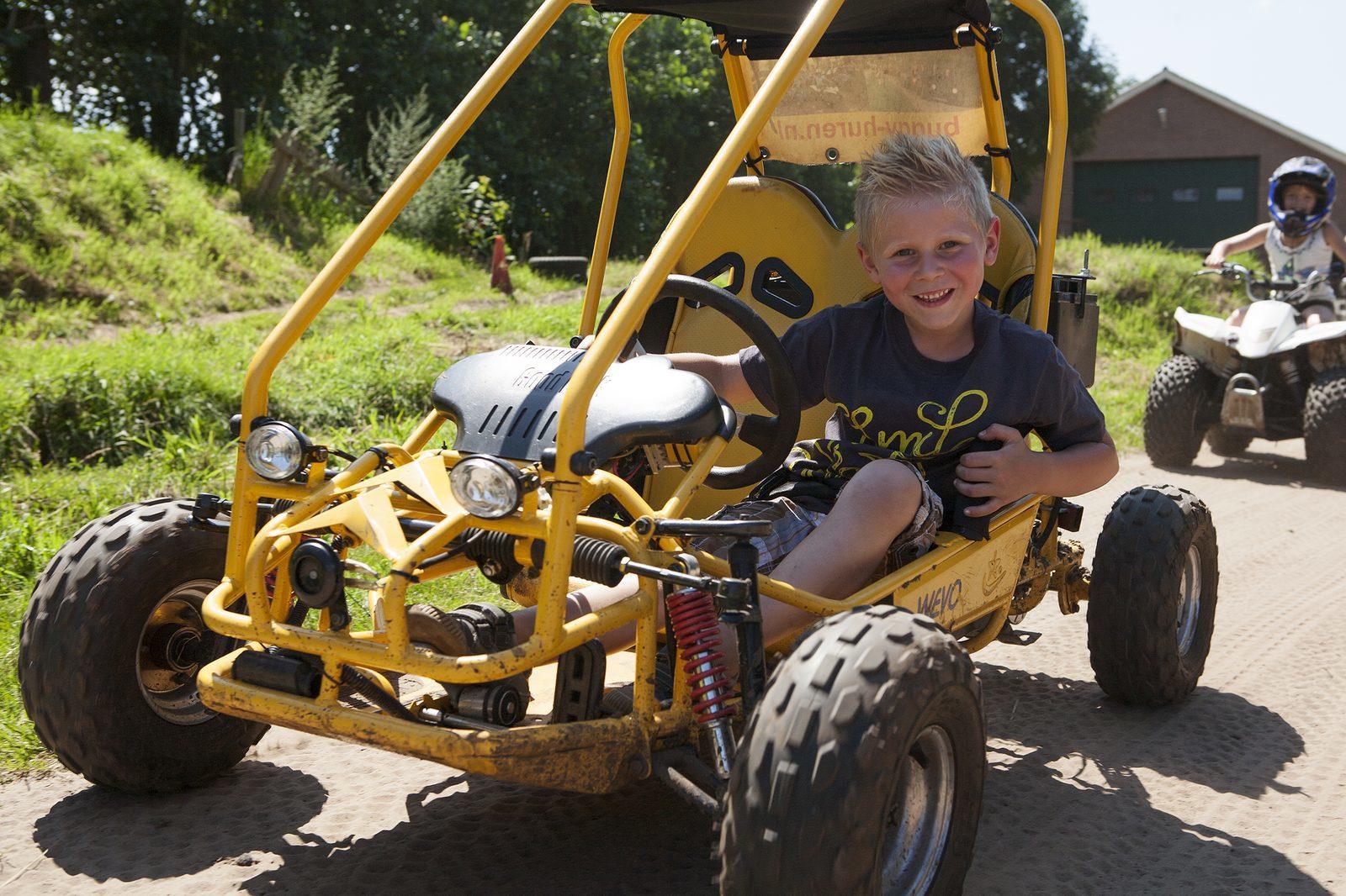 Buggy rijden op kinderfeestje in Voorthuizen