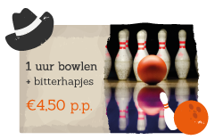 Book a bowling alley and snacks with your activity on Recreation park De Boshoek