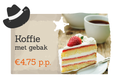 Book coffee and cake with your activity on Recreation park De Boshoek