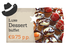 Book an extra Luxurious Dessert with your activity on Recreation park De Boshoek