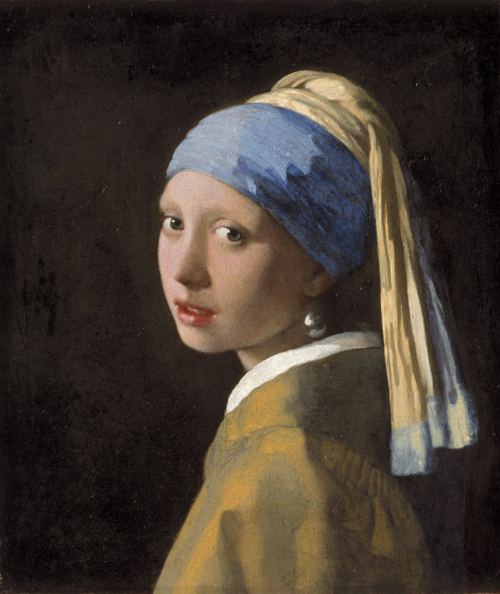 Girl with a Pearl Earring, Mauritshuis