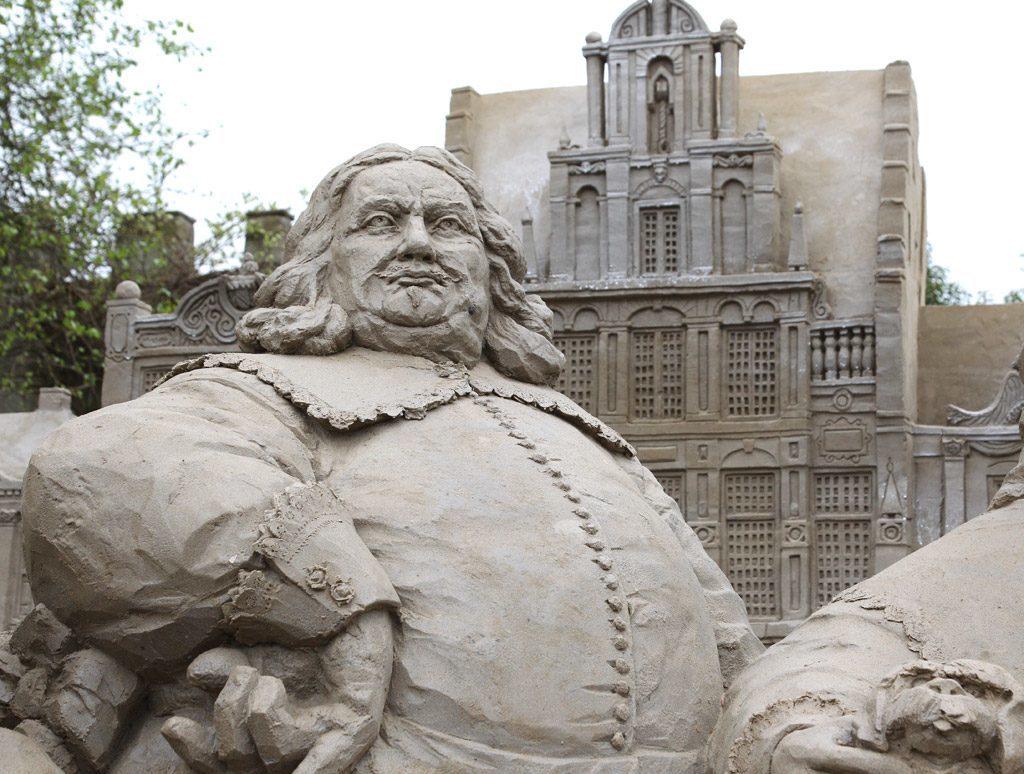 Sand sculptures Garderen