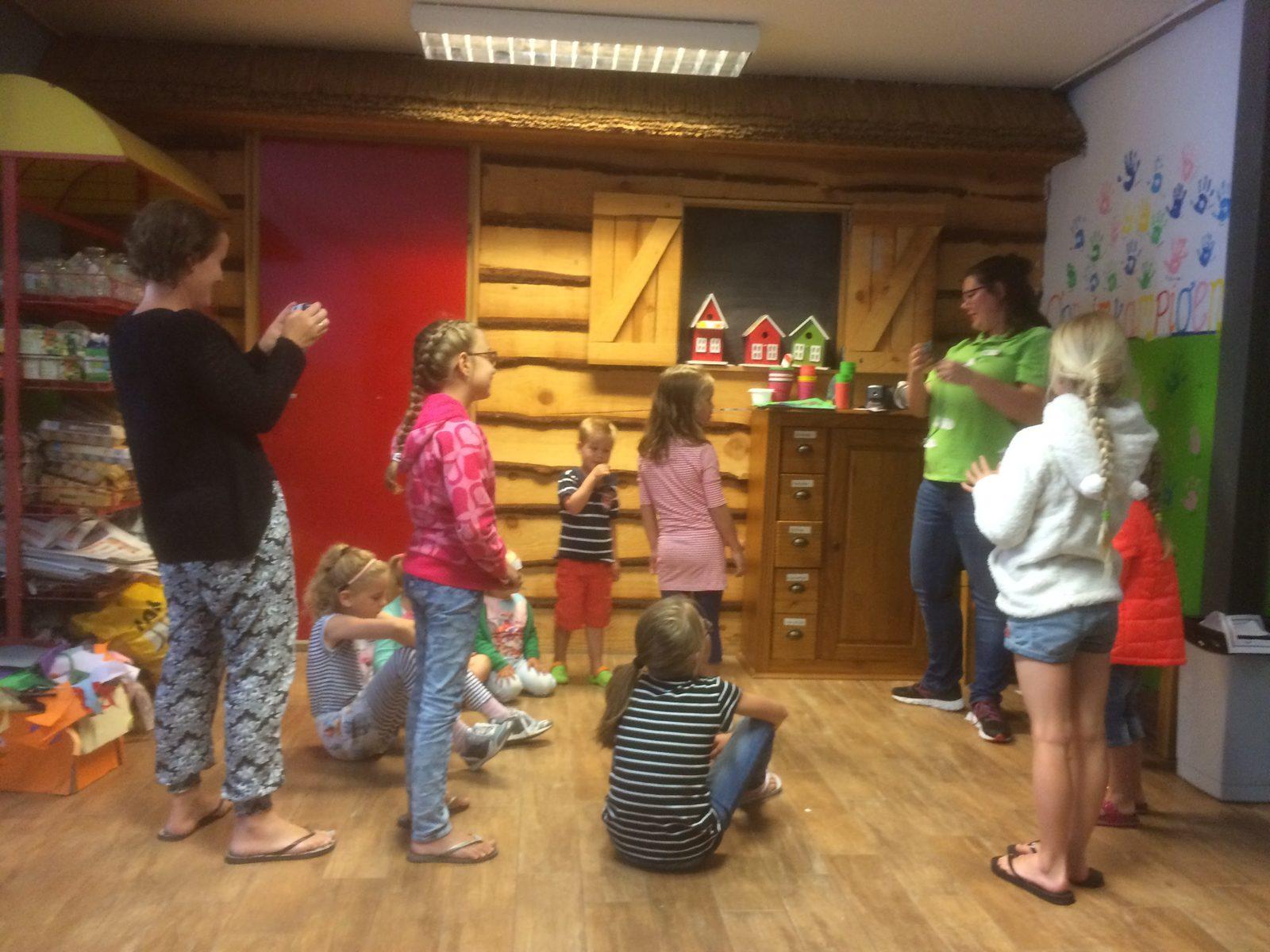Leuke animatie activiteiten tijdens vakantie met kinderen bij Recreatiepark De Boshoek