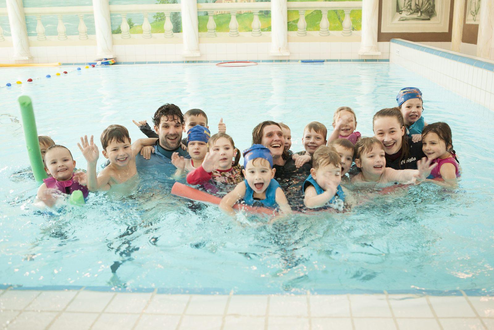 Vakantiepark met binnen en buitenzwembad