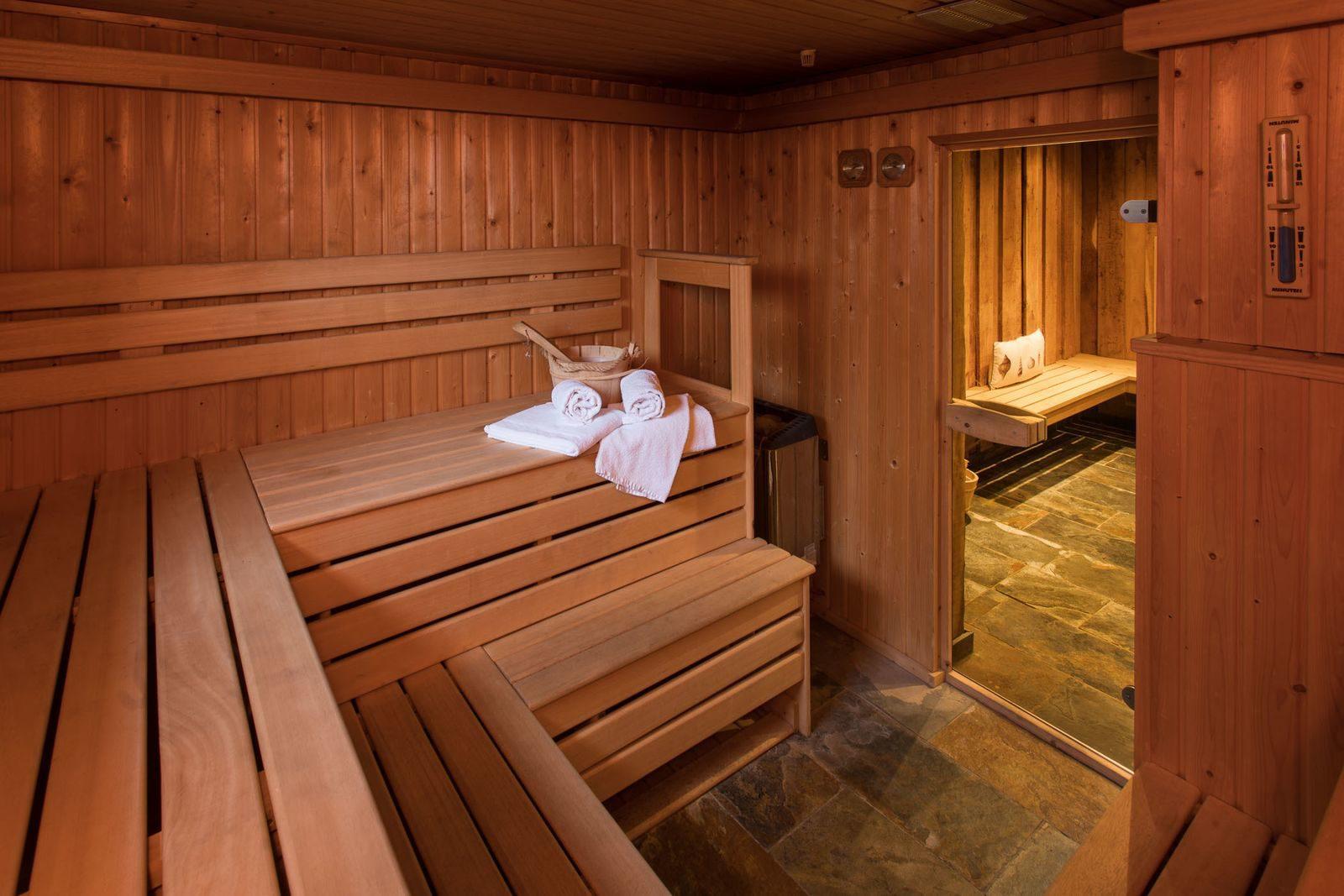 Met een sauna
