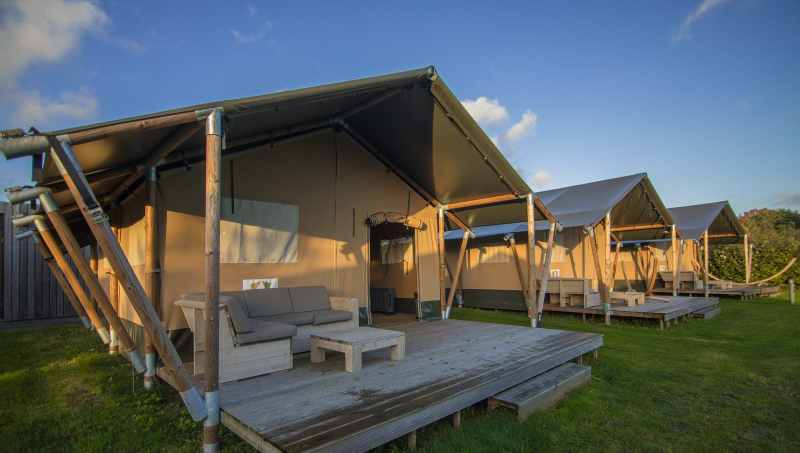 5-star campsite