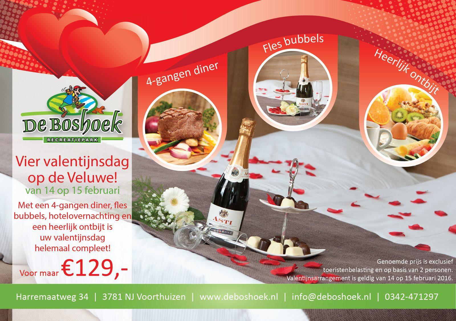 Valentijnsdag op Recreatiepark De Boshoek