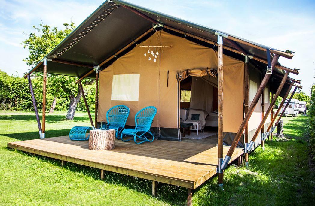 Ga op vakantie in Safaritent op de Veluwe op Recreatiepark De Boshoek