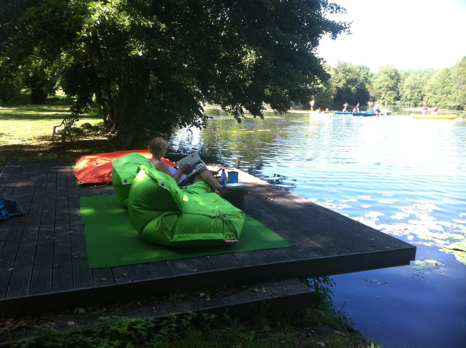 Vakantiehuizen met zwemvijver