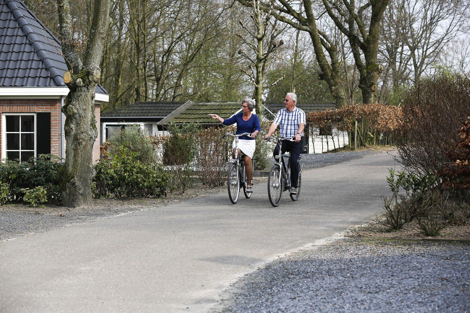Ein Ferienpark für ältere Leute