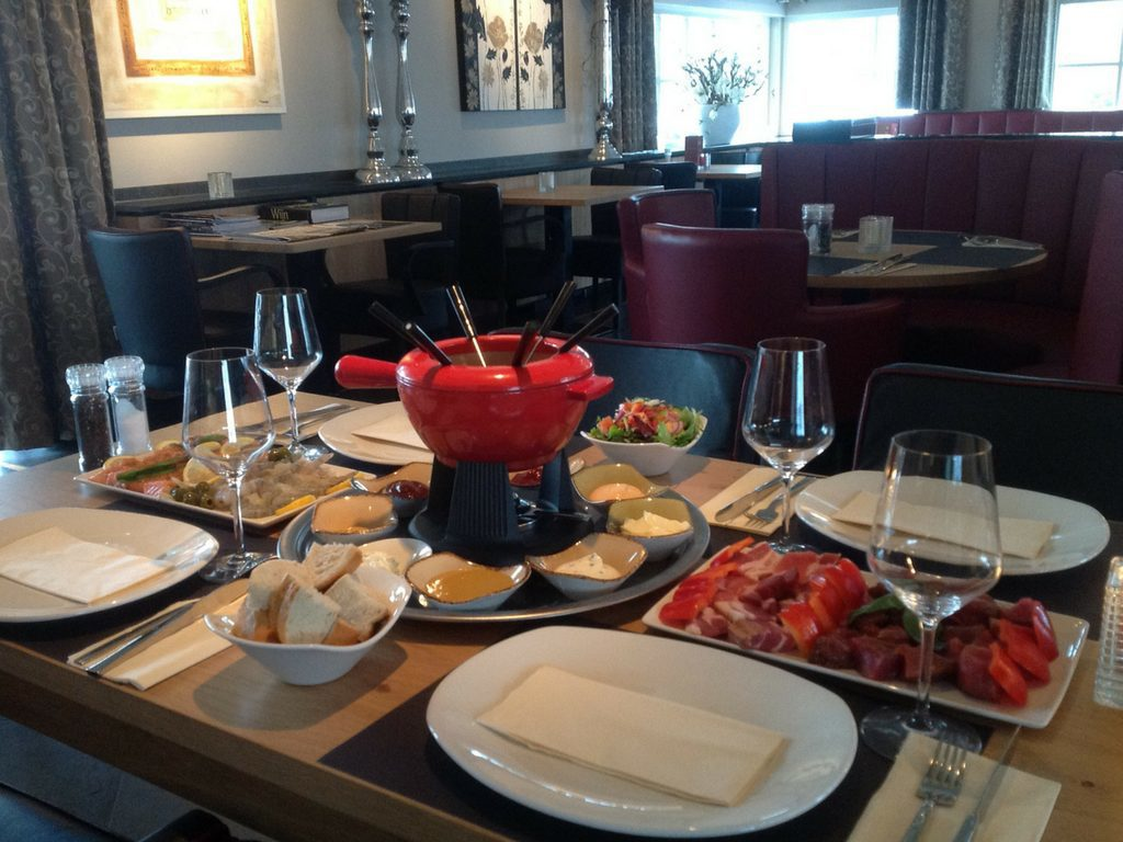 Your Fondue package at restaurant De Hazelaer