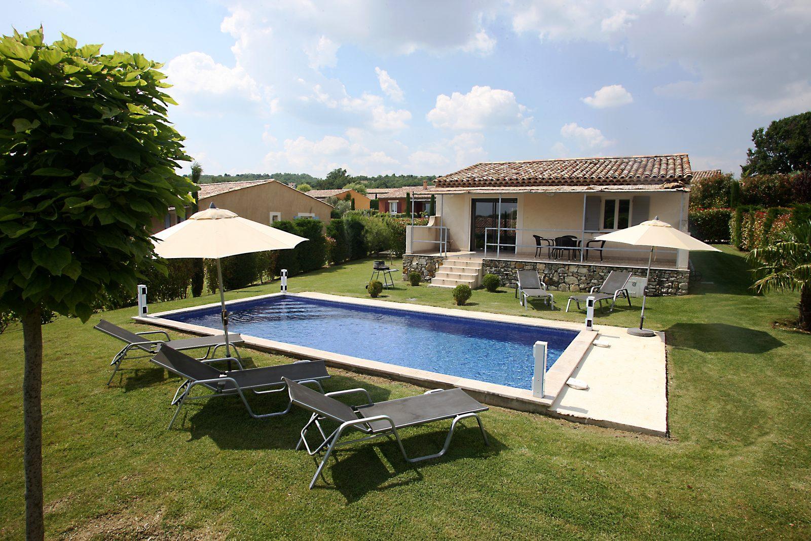 Kleinschalig vakantiepark Beaudine in Provence Frankrijk