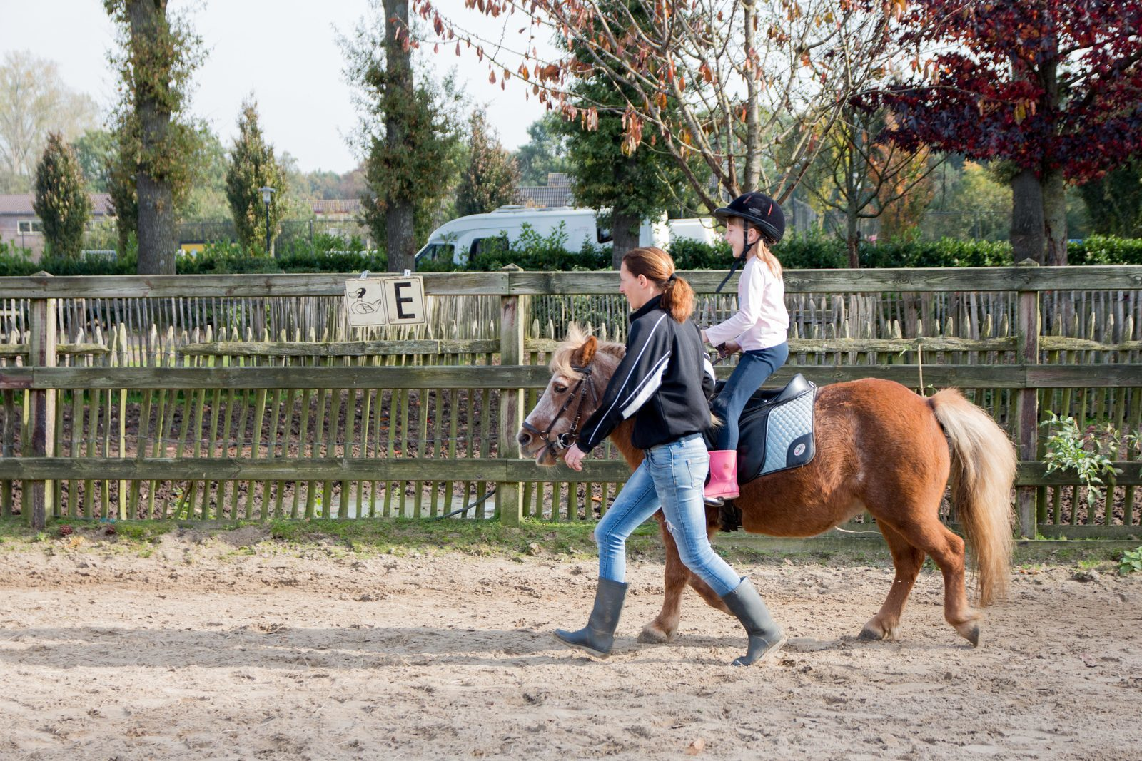 Horseback riding during vacation | Holiday park De Boshoek