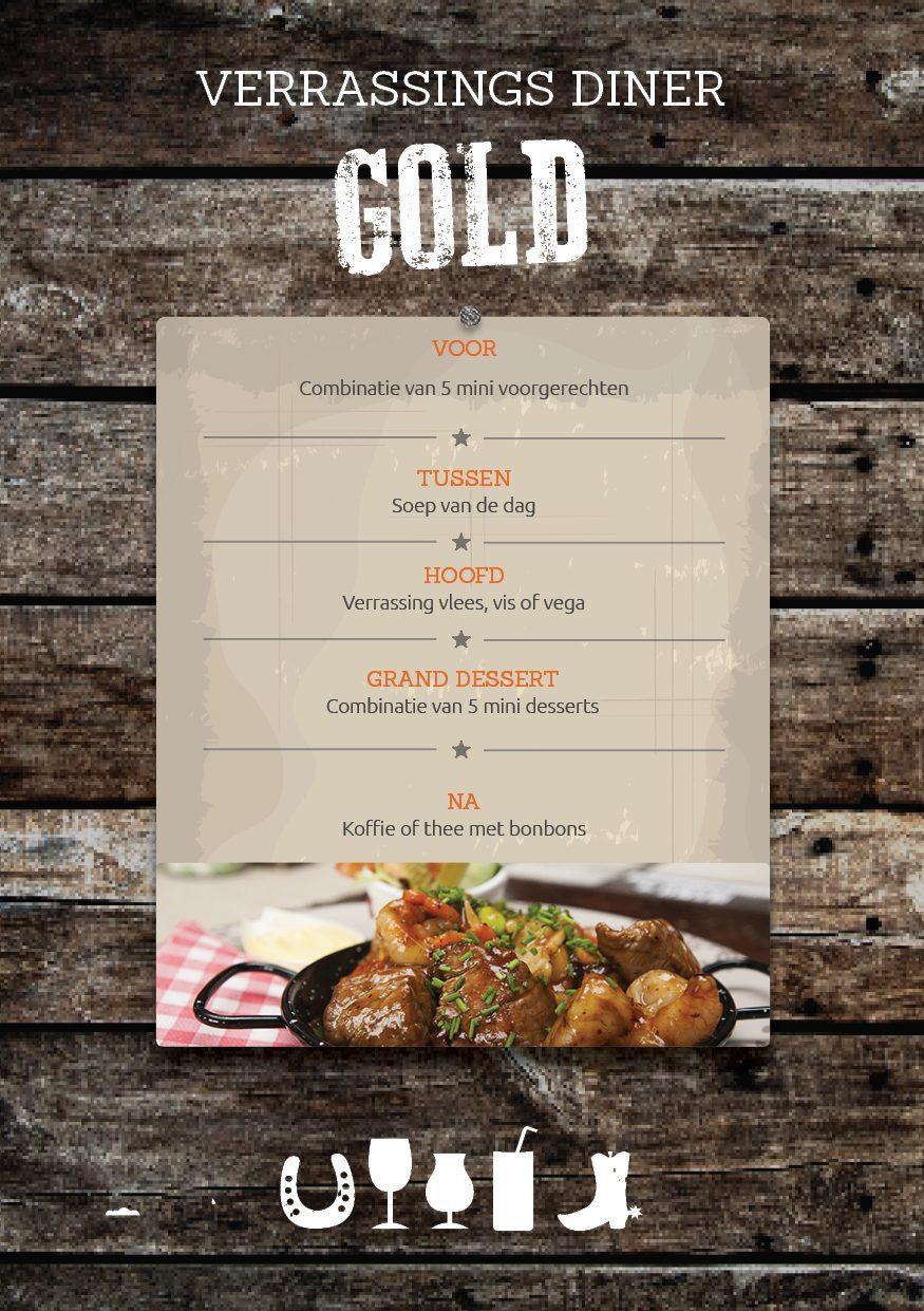 3-course Dinner in Voorthuizen at De Boshoek