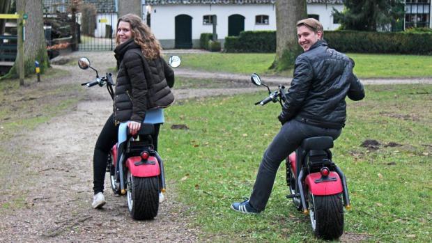 E-Chopper, trek erop uit op de Veluwe! Reserveer tijdens uw verblijf op Recreatiepark De Boshoek!