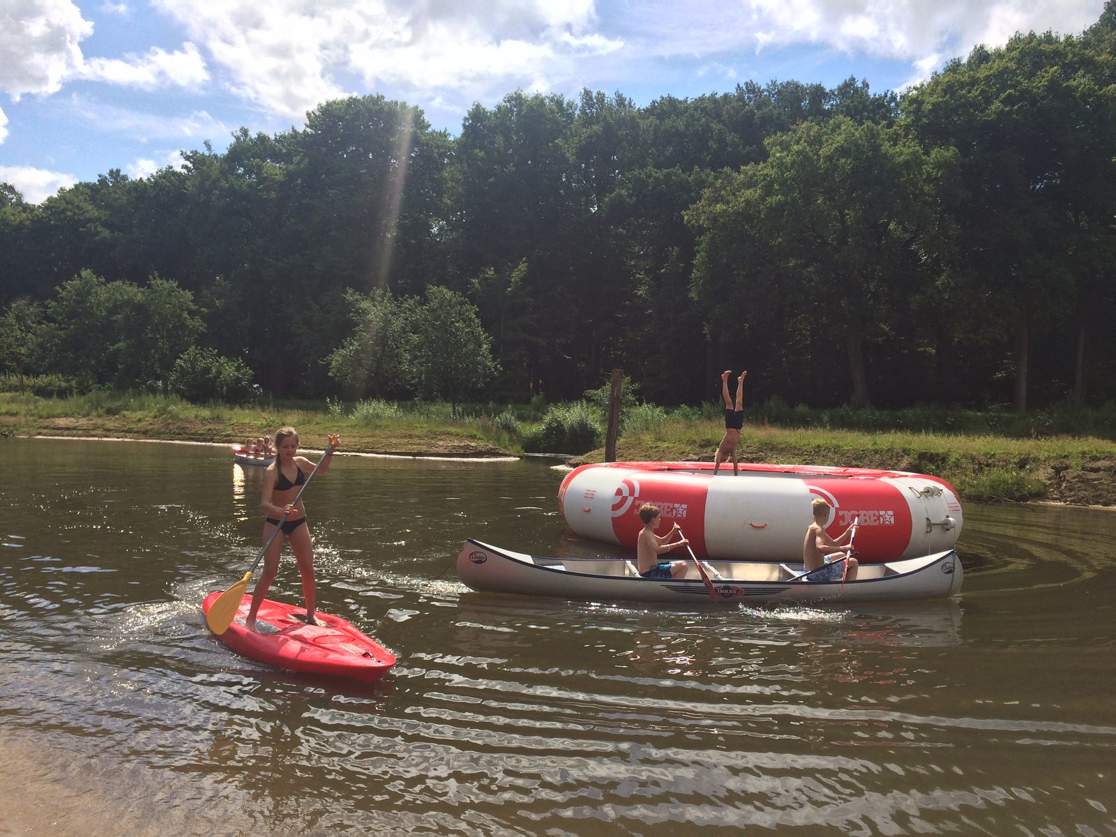 Camping de Koeksebelt Overijssel sports and games