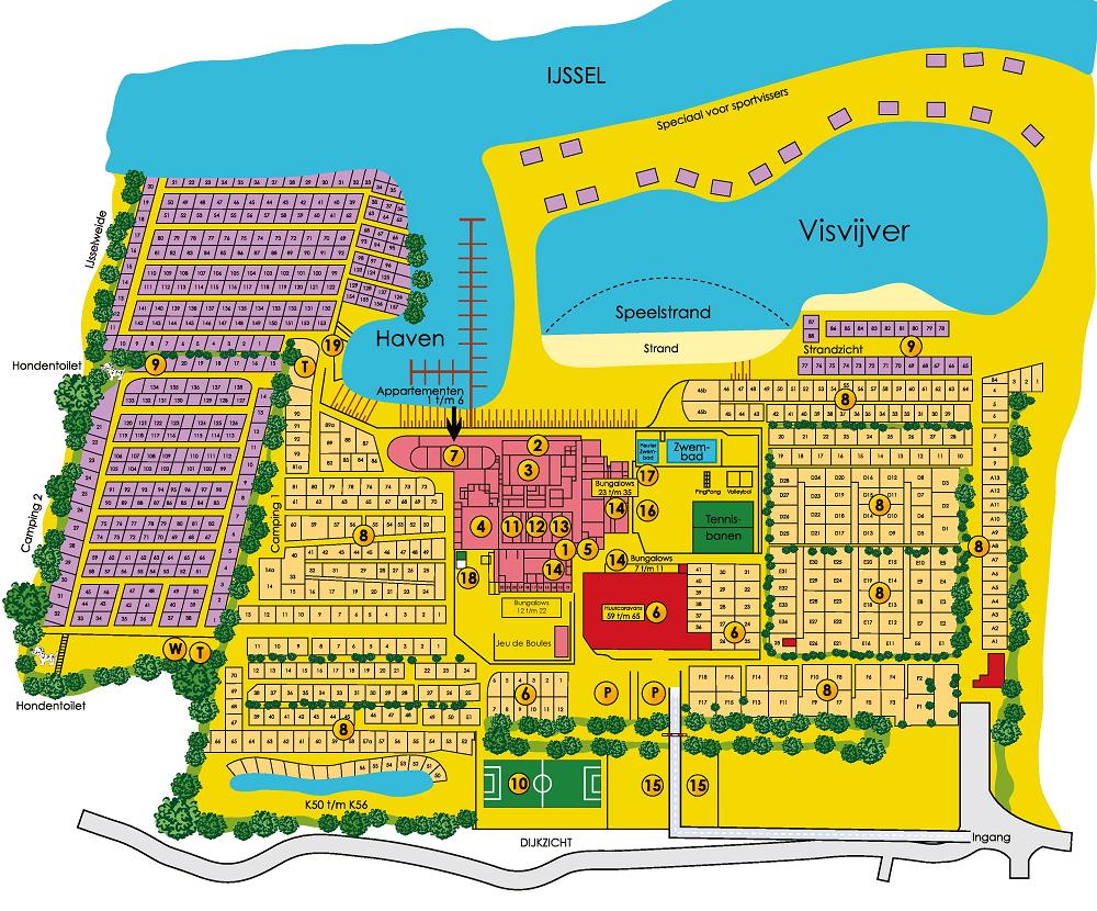 Map of De Scherpenhof