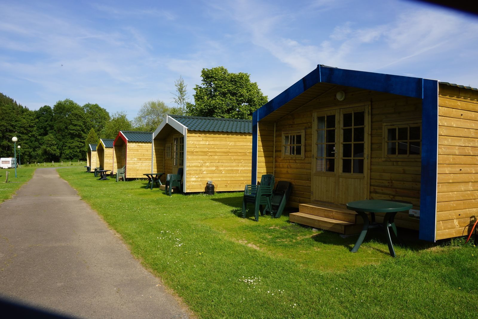 Camping Spa d'Or accommodaties