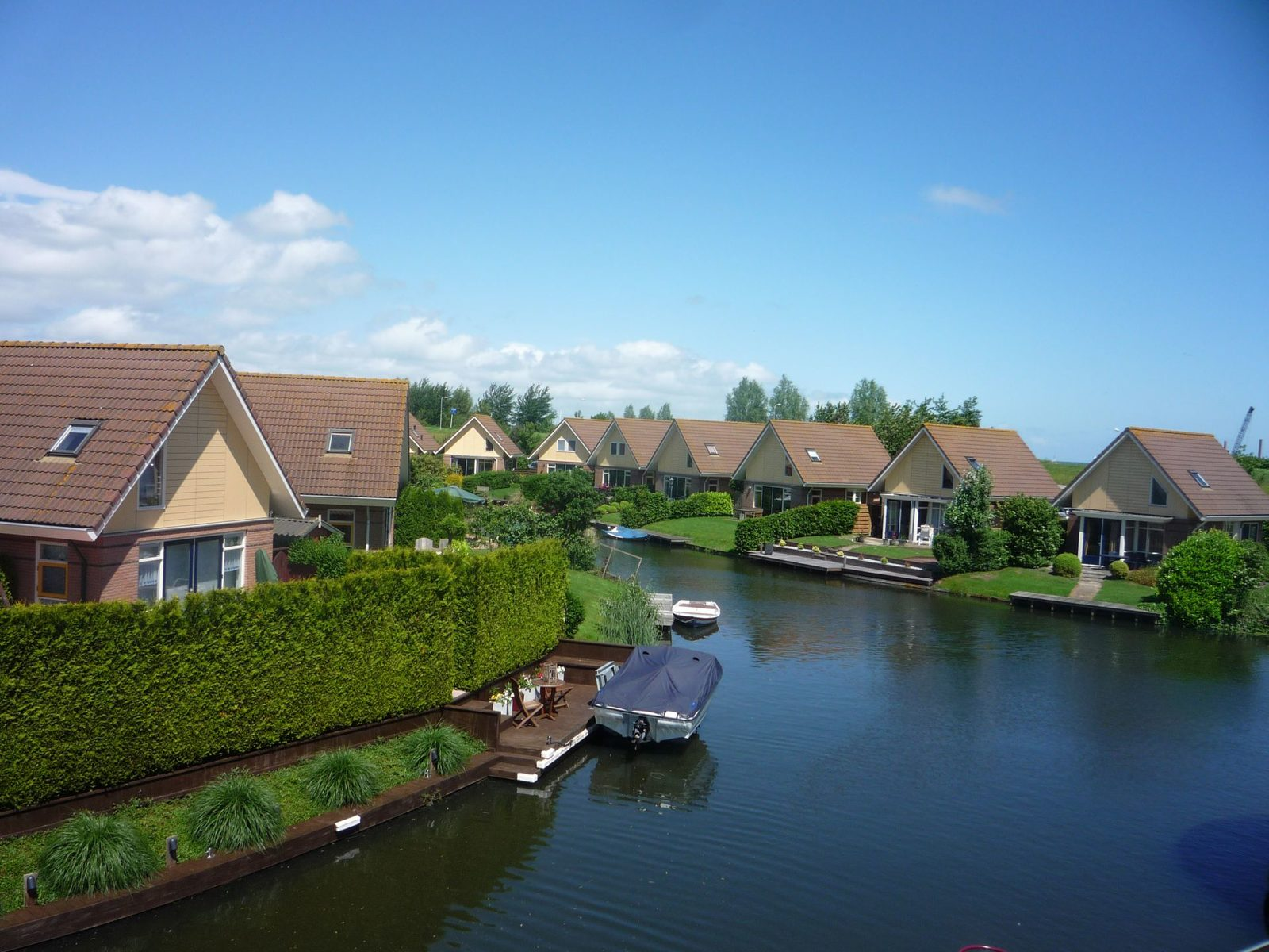 Luxurious bungalows