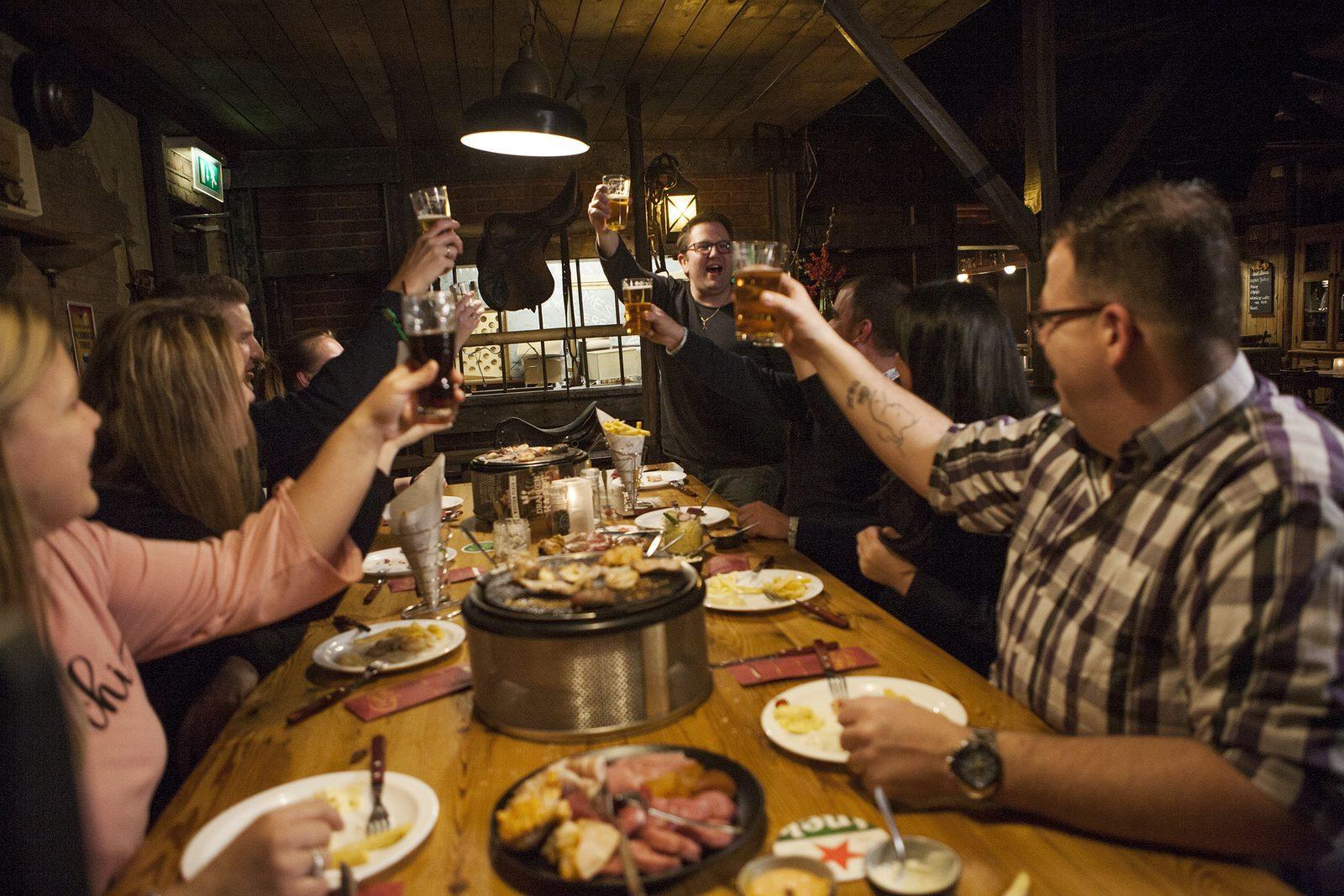 Lekker tafelgrillen op De Boshoek in Voorthuizen