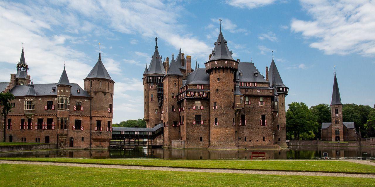 Burganlage de Haar | Umgebung | Bonte Vlucht