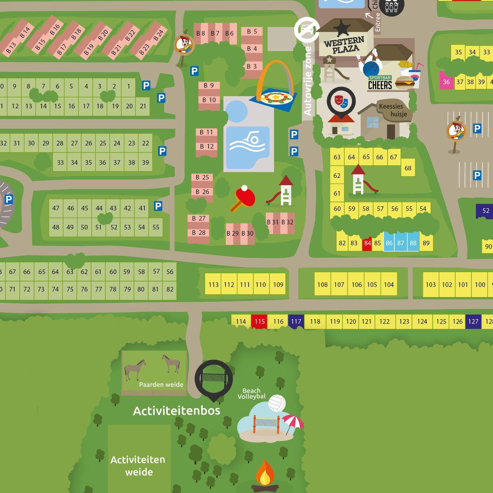 Activiteitenbos op Recreatiepark De Boshoek