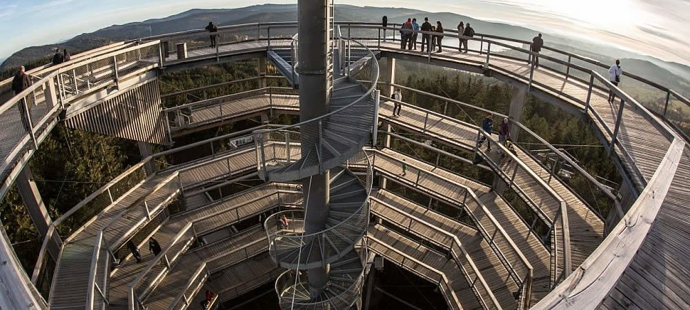 The Treetop Walkway Lipno