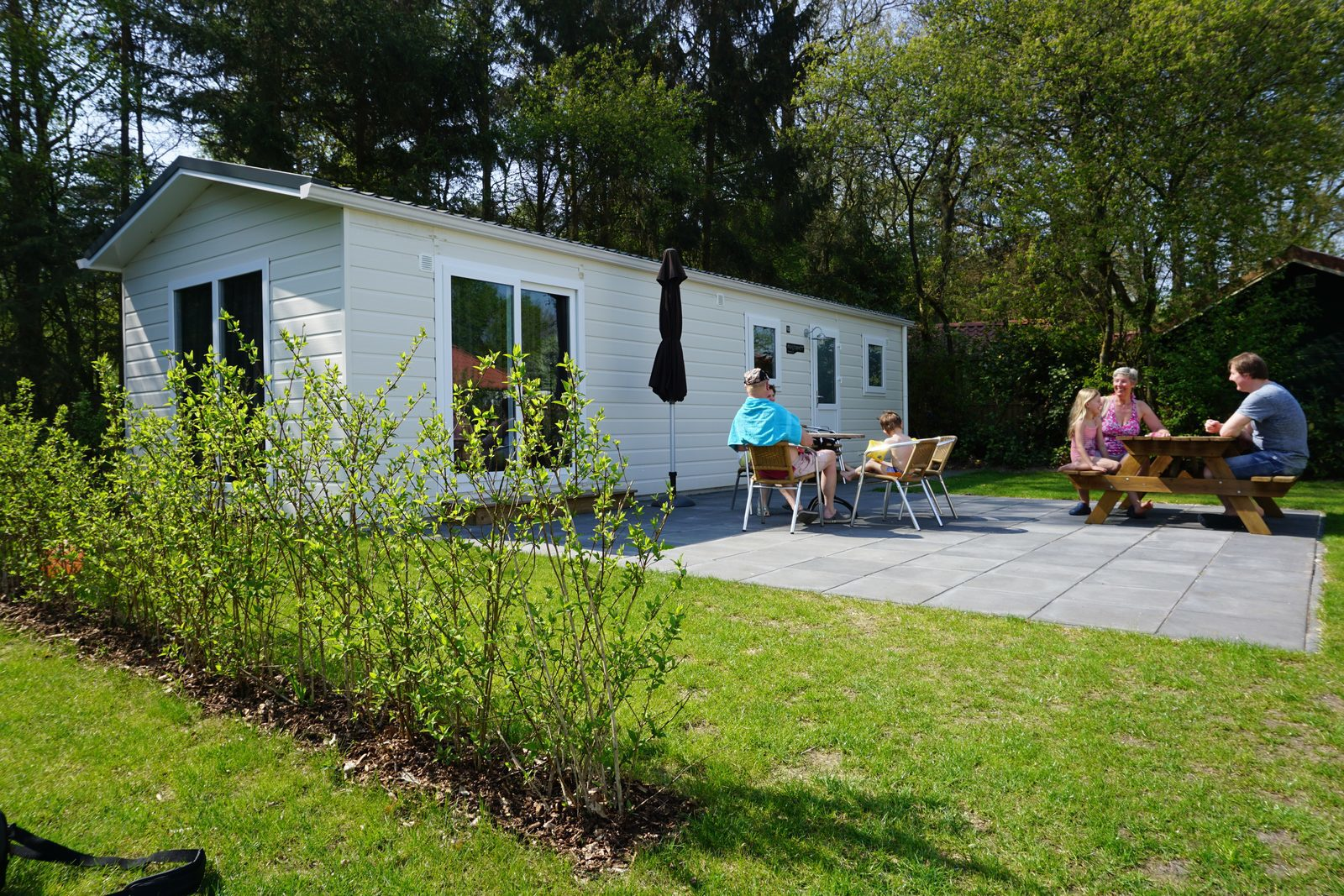 Chalet huren camping Nederland