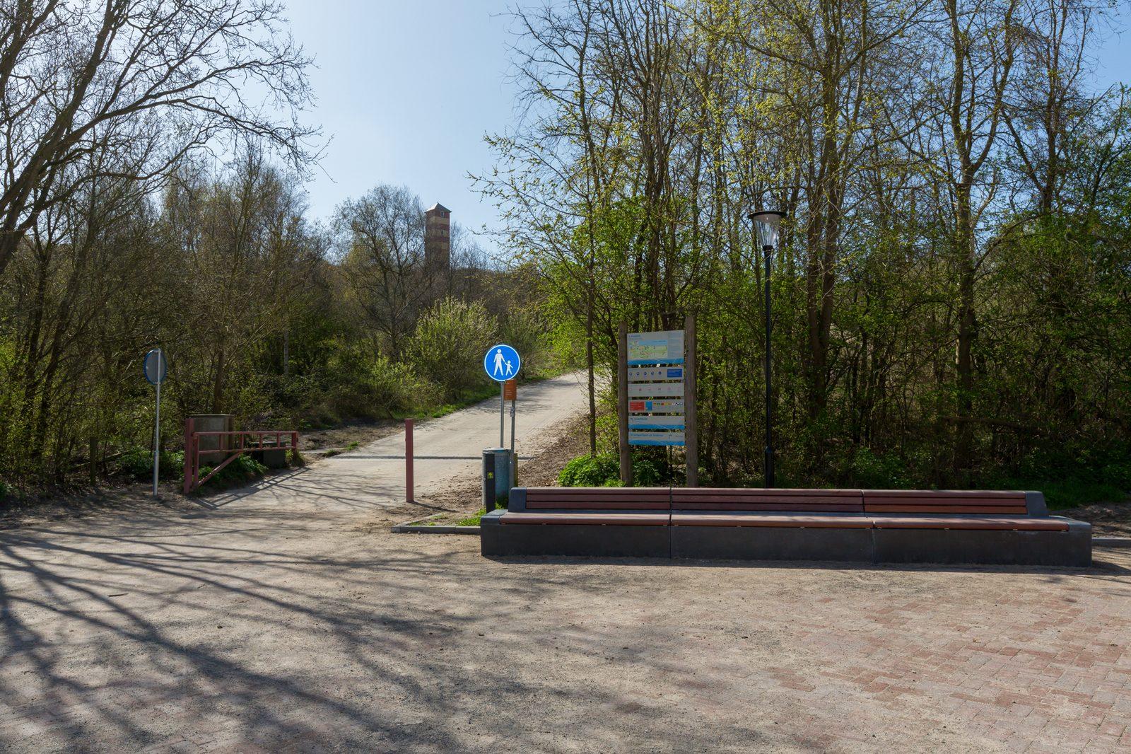 Duinovergang Dishoek nabij Klein Dishoek