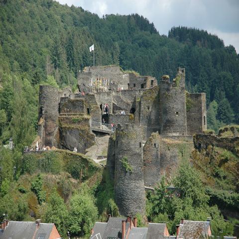 Le Château féodal de La Roche-en-Ardenne