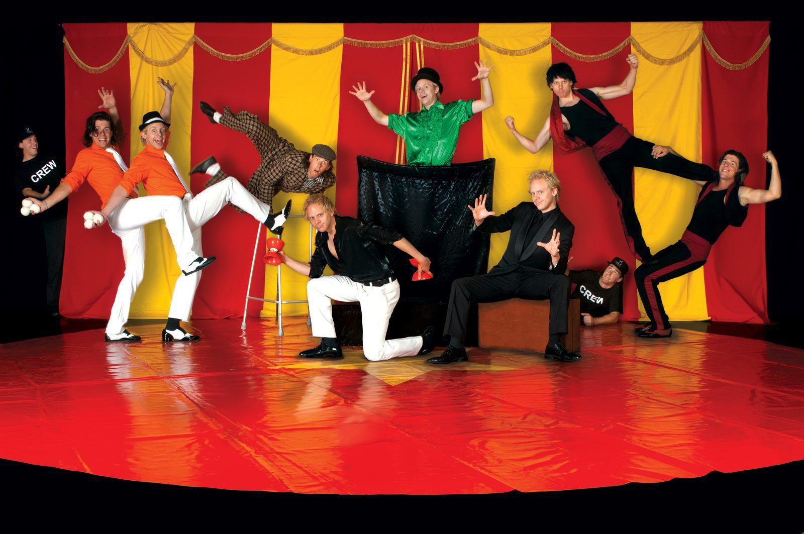 Themadag circus op recreatiepark de boshoek